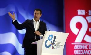 Ομιλιά Τσίπρα ΔΕΘ: Η κυβέρνηση προχώρησε τα μεγάλα έργα υποδομών