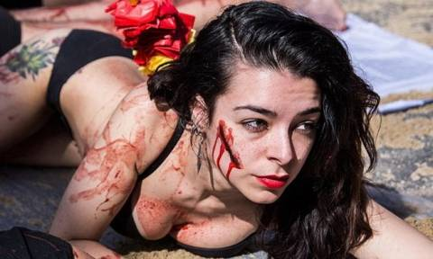 Ισπανία: Χιλιάδες Ισπανοί διαδήλωσαν ενάντια στις ταυρομαχίες (Pics)