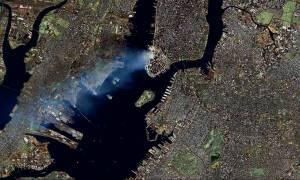 11η Σεπτεμβρίου 2001: Σπάνιο βίντεο της επίθεσης στους Δίδυμους Πύργους από το διάστημα