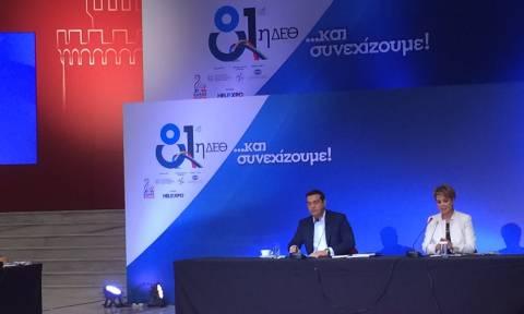 ΔΕΘ 2016: Συνέντευξη Τσίπρα: «Έχουμε στόχο και σχέδιο, έχουμε πλέον συμμάχους στην Ευρώπη»