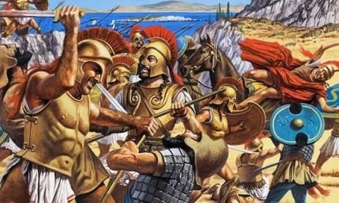 Σαν σήμερα το 490 ξεκίνησε η Μάχη του Μαραθώνα