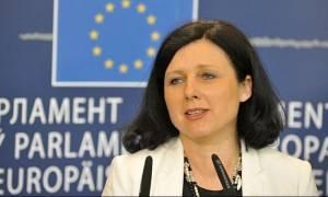 Στην Αθήνα σήμερα η Ευρωπαία Επίτροπος για θέματα Δικαοσύνης
