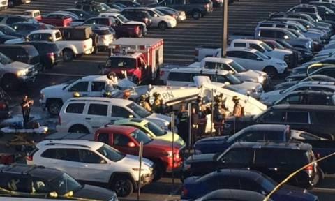 Τραγωδία στις ΗΠΑ: Τρεις νεκροί από συντριβή αεροσκάφους (pics)