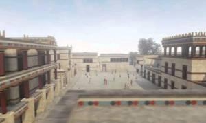 Το μαγικό παλάτι της Κνωσού σε ένα τρισδιάστατο βίντεο!