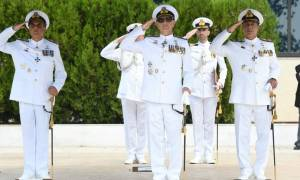 Πολεμικό Ναυτικό: Τελετή Παράδοσης- Παραλαβής Διοικητού Σχολής Ναυτικών Δοκίμων (pics)