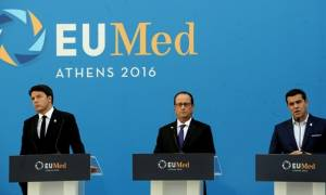 FT: Οι ηγέτες του Νότου θέλουν να κάνουν ομάδα, αλλά ο Τσίπρας θα μείνει μόνος