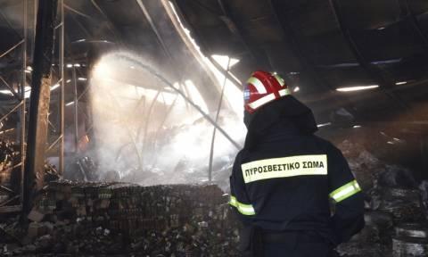 Πανικός το βράδυ στα Χανιά από πυρκαγιά