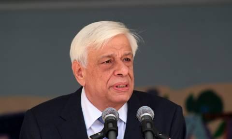 Παυλόπουλος: Θα κάνω ό,τι μου αναλογεί, για να μην ξαναζήσει η Χίος τέτοια καταστροφή