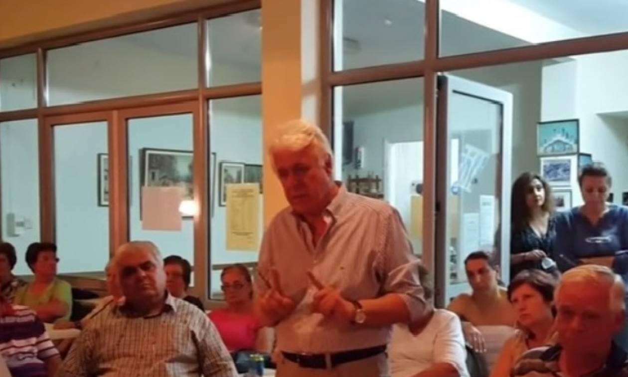 Σάλος με το Δήμαρχο Ωραιοκάστρου: Παρακινεί τους πολίτες να δράσουν κατά των προσφύγων;