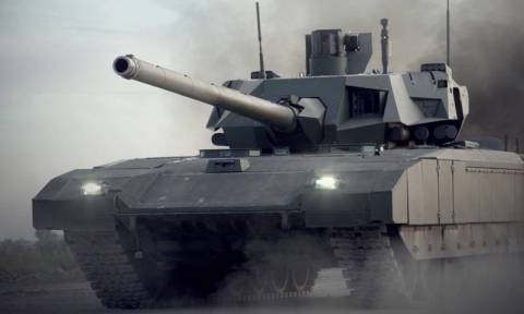 Ατσάλινη καταιγίδα – Αυτό είναι το πανίσχυρο νέο άρμα μάχης της Ρωσίας (vid)
