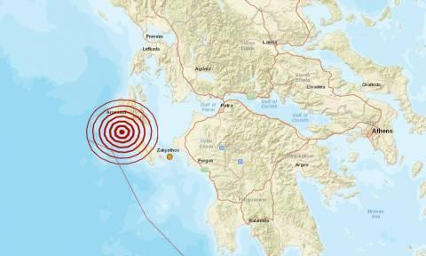Σεισμός 4,2 Ρίχτερ μεταξύ Ζακύνθου και Κεφαλονιάς (pic)