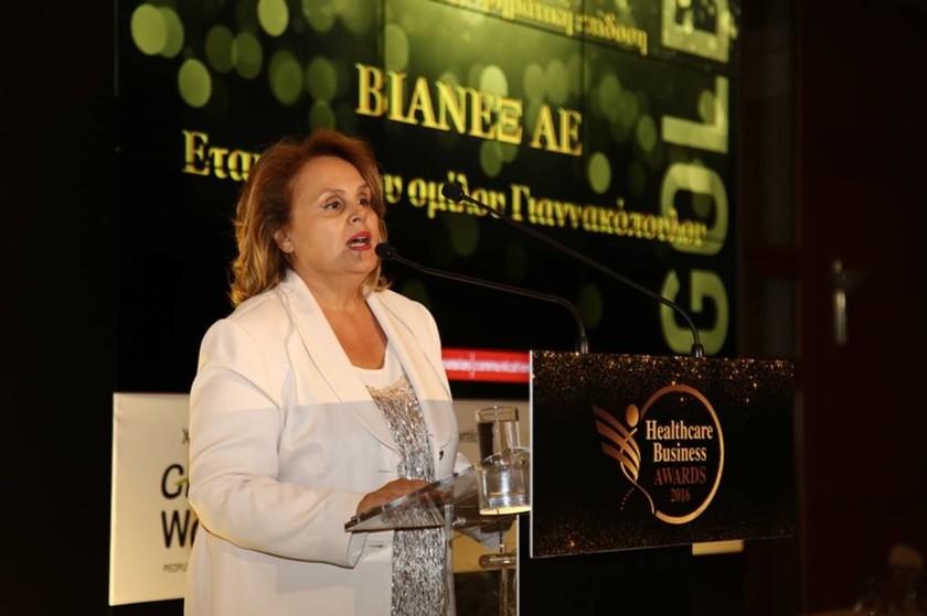 Η διευθύντρια Ποιότητας της ΒΙΑΝΕΞ Α.Ε, κυρία Γεωργία Βέρδη