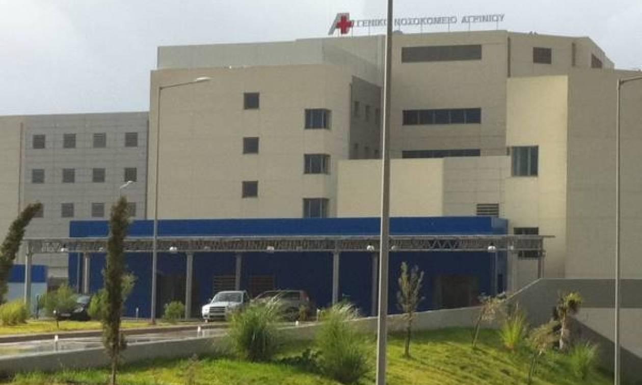 Σοκ στο Αγρίνιο: 61χρονος «βούτηξε» από τον 3ο όροφο νοσοκομείου