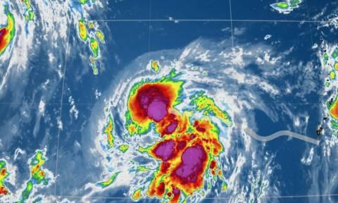 #Malakas: Η τροπική καταιγίδα που σαρώνει στο Twitter