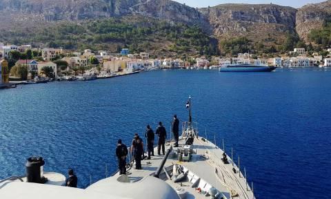 Πολεμικό Ναυτικό: Στη 73η Επέτειο Απελευθέρωσης της Μεγίστης (pics)