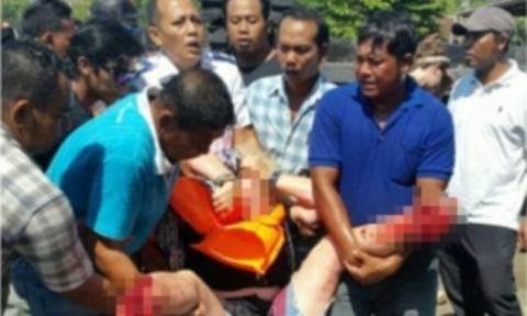 Ισχυρή έκρηξη σε φέρι με τουρίστες στο Μπαλί – Τουλάχιστον δύο νεκροί (ΣΚΛΗΡΕΣ ΕΙΚΟΝΕΣ)