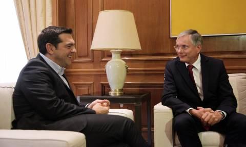 Τετ-α-τετ Τσίπρα με τον Αυστριακό υπουργό Εργασίας
