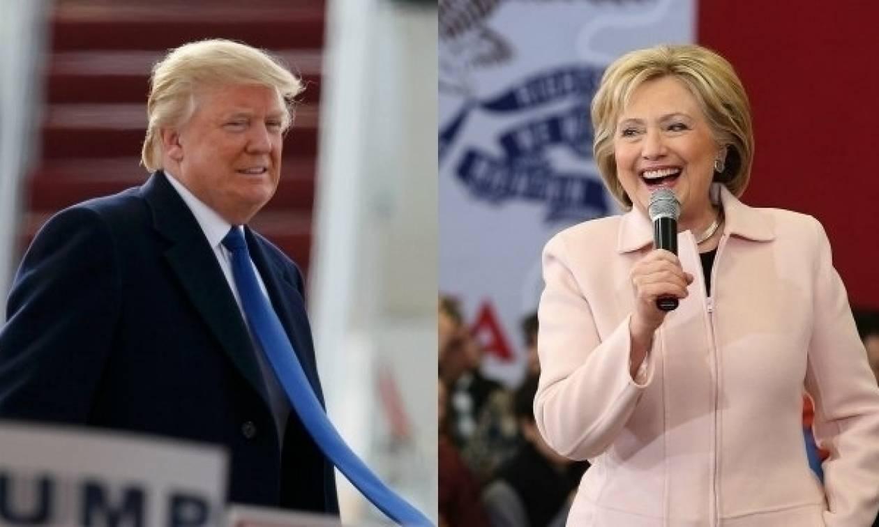 «Θρίλερ» η μάχη για την προεδρία των ΗΠΑ - Κερδίζει έδαφος ο Τραμπ