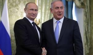 Путин обсудил с Нетаньяху ситуацию на Ближнем Востоке