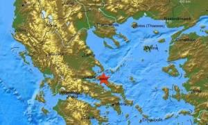 На острове Эвбея произошло землетрясение магнитудой 4,3 балла