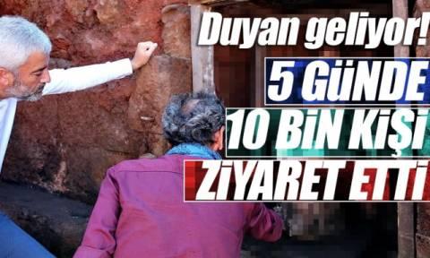 Απίστευτο: Τούρκοι προσκυνούν άγαλμα της Παναγίας