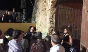 Ηράκλειο: Ένταση στα επίσημα εγκαίνια του Γεντί Κούλε (pics)