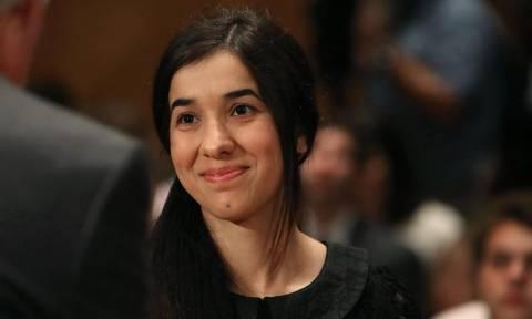 Νεαρή Γιαζίντι σκλάβα του σεξ μαχητών του ΙΚ έγινε πρέσβειρα του ΟΗΕ