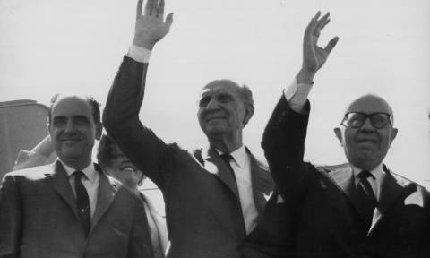 19/9/1961: Ιδρύεται από τον Γεώργιο Παπανδρέου η Ένωση Κέντρου