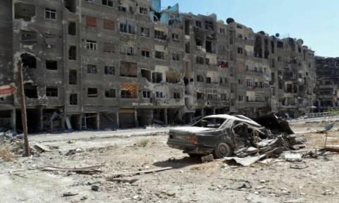Νεκροί Σύροι στρατιώτες από αεροπορική επιδρομή