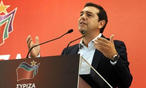 Προκλητικός ο Τσίπρας: Το πρόγραμμα της Θεσσαλονίκης ισχύει στο ακέραιο (vid)