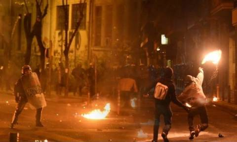 Επεισόδια και συλλήψεις στο κέντρο της Αθήνας