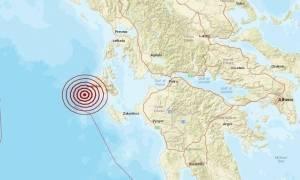 На о.Кефалонья произошло землетрясение магнитудой 4,5 балла