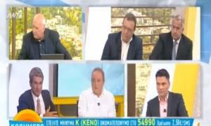 Τηλεοπτικές άδειες: «Μαλλιά κουβάρια» έγιναν on air Λοβέρδος και Φάμελλος (vid)