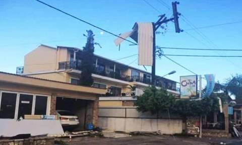Κακοκαιρία: Εικόνες καταστροφής και προβλήματα σε Ζάκυνθο, Πάτρα και Πύργο (pics&vid)