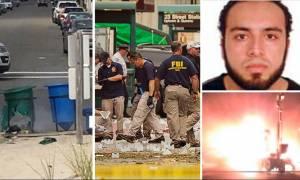 Συνελήφθη ο ύποπτος για τις βομβιστικές επιθέσεις στη Νέα Υόρκη (video+photo)