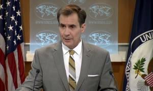 Η Ουάσιγκτον είναι «εξοργισμένη» με τον βομβαρδισμό των φορτηγών στη Συρία