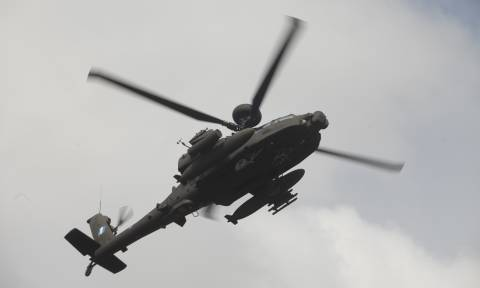 Πτώση ελικοπτέρου: Εδώ κατέπεσε το Απάτσι της Αεροπορίας Στρατού