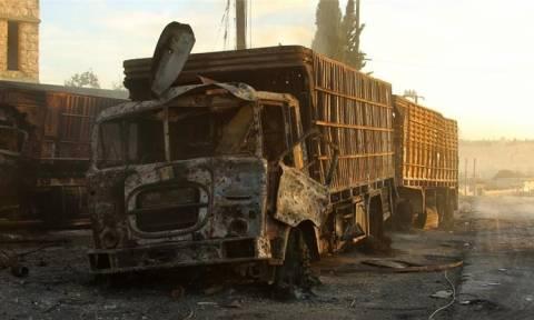 Ρωσικό Υπουργείο Άμυνας: Η αυτοκινητοπομπή στη Συρία δεν επλήγη από αεροπορική επιδρομή