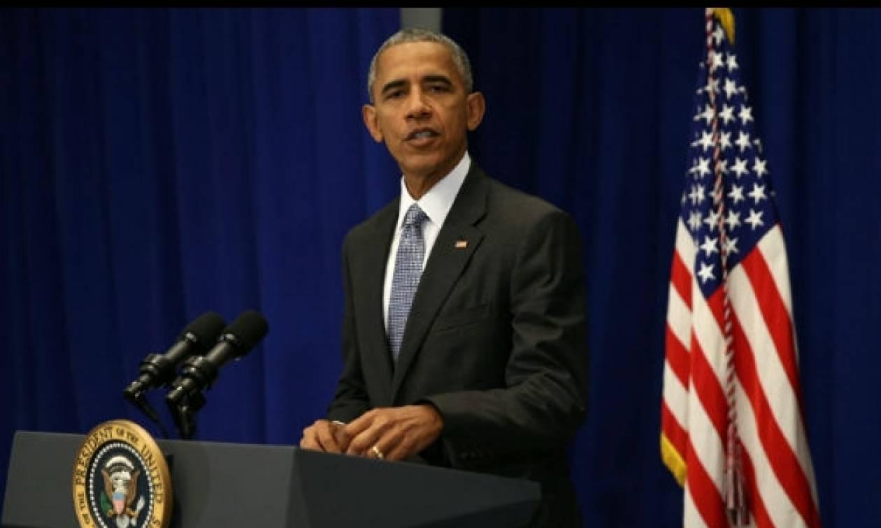 Ομπάμα: Απαράδεκτο αυτό που συμβαίνει στη Συρία