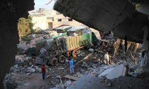 Οι ΗΠΑ κατηγορούν ευθέως τη Ρωσία για το βομβαρδισμό του κομβόι ανθρωπιστικής βοήθειας στη Συρία