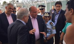 Ο ΣΥΡΙΖΑ άνοιξε και πάλι την Αμυγδαλέζα - Επιθεώρηση Τόσκα στις εγκαταστάσεις (photos&video)