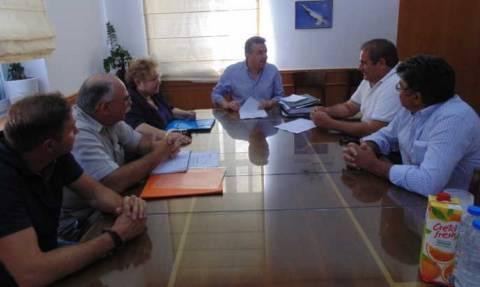 Περιφέρεια Κρήτης: Σύμβαση για αποκατάσταση αρδευτικού έργου στο Ηράκλειο