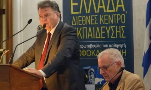 Παρουσίαση του νέου βιβλίου του Σοφοκλή Ξυνή «Ελλάδα, Διεθνές Κέντρο Εκπαίδευσης»