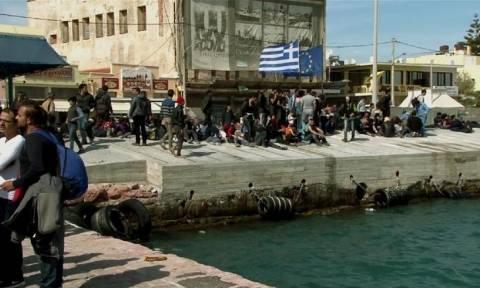 Νέα συγκέντρωση για το προσφυγικό ζήτημα στη Χίο