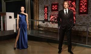 Μπραντ Πιτ και Αντζελίνα Τζολί χώρισαν και στο Μουσείο της Μαντάμ Τισό!
