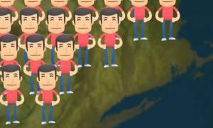 Εσύ ξέρεις τι θα γινόταν αν όλοι οι άνθρωποι στη Γη πηδούσαν ταυτόχρονα; (videos)
