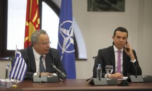 Συνάντηση Κοτζιά με τον Σκοπιανό Υπουργό Εξωτερικών στις ΗΠΑ