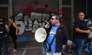 Απλήρωτοι για 18 μήνες εργαζόμενοι στην Ειδική Αγωγή - Διαμαρτυρία στο Υπουργείο Εργασίας