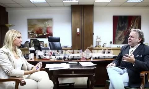 Γιώργος Κατρούγκαλος στο newsbomb.gr: Θα κόψουμε και τις συντάξεις των βουλευτών (video)
