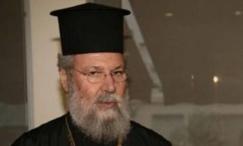 Αρχιεπίσκοπος Κύπρου: Το προσκύνημα λειψάνων δεν είναι θέμα της Επιτρόπου Διοικήσεως